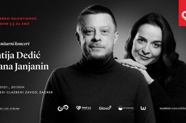 Ovo Valentinovo obilježite divnim humanitarnim koncertom Matije Dedića i Lane Janjanin