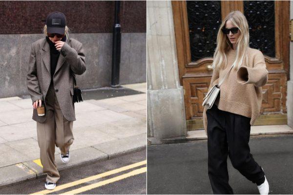 Oversized poslovne hlače novi su street style trend