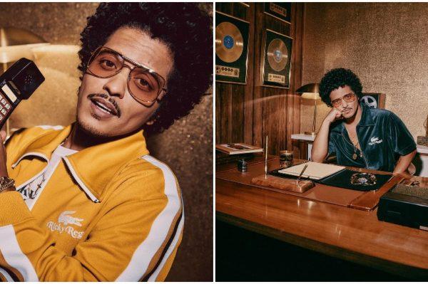 Journal Man: Bruno Mars je kreirao funky kolekciju za Lacoste