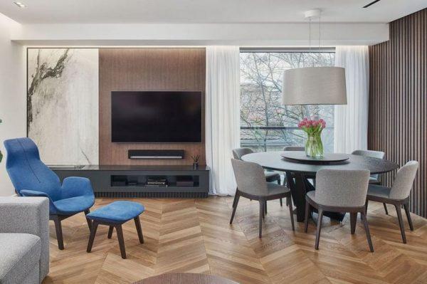 Kako je uređen stan od 100 kvadrata u centru Zagreba za mladi bračni par
