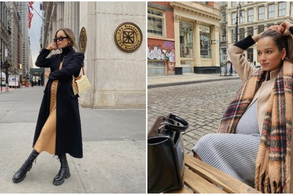 Ova trudnica zna kako spojiti elegantni i casual stil