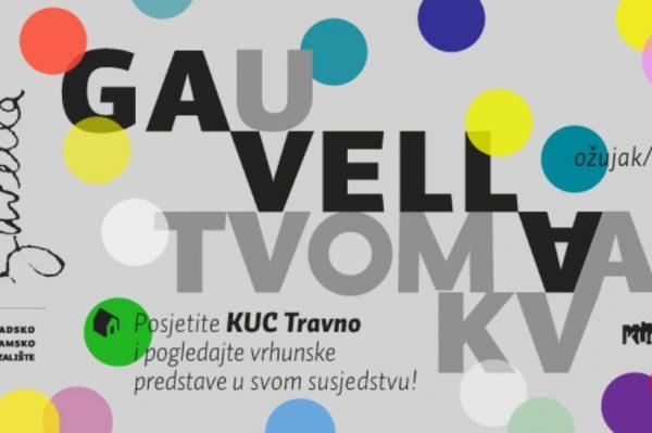 Do svibnja ćemo predstave Kazališta Gavella gledati u KUC Travno