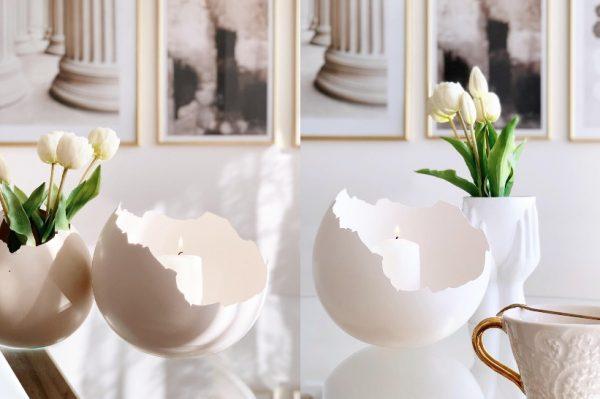 Jaje od gipsa je najnoviji hit za Uskrs kojeg je izradila domaća kreativka Valentina Šestan