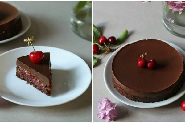 Culinary Postcards: Čokoladni tart s trešnjama za nedjeljno popodne