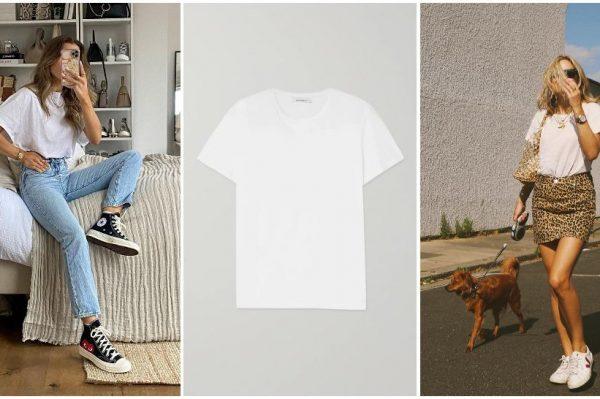 7 savršenih: Bijeli T-shirt koji treba svaka proljetna garderoba