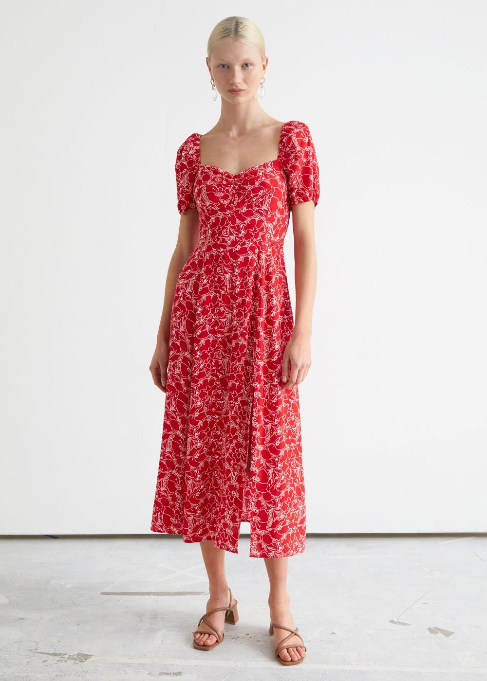 & Other Stories midi haljina proljeće ljeto 2021.