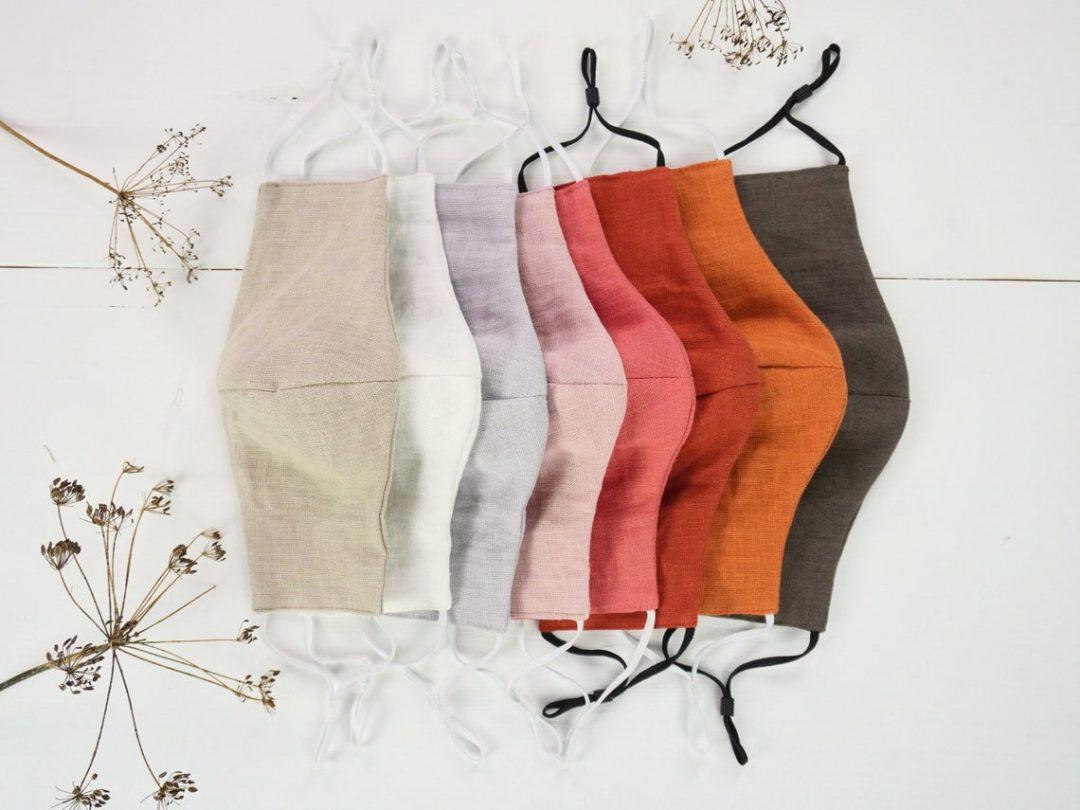 Etsy zaštitne maske od pamuka i lana proljeće ljeto 2021.