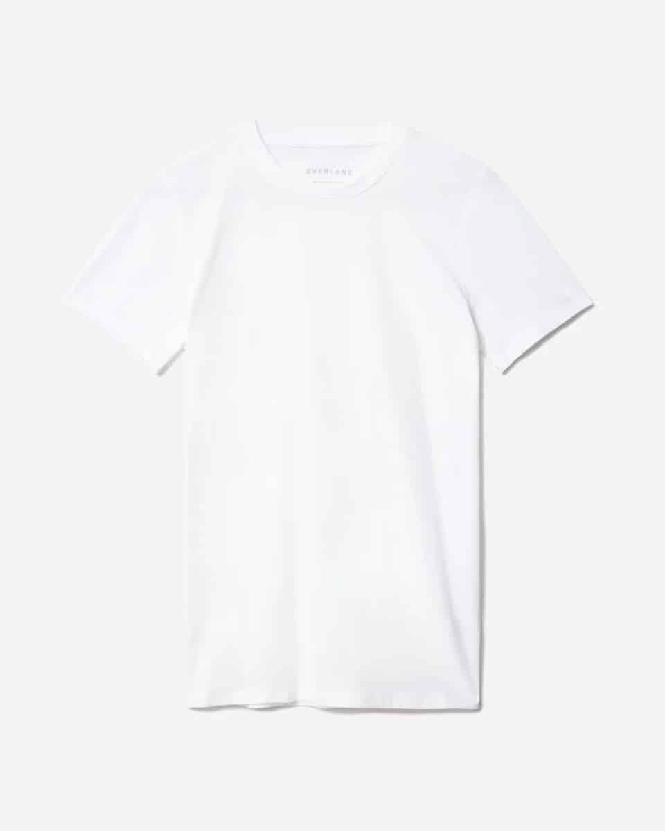 7 savršenih: Everlane bijeli T-shirt za proljeće 2021.