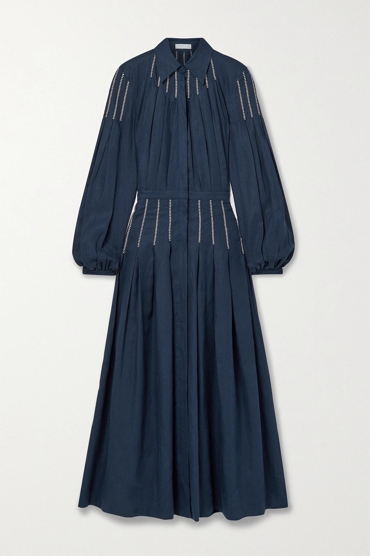 Gabriela Hearst midi haljina proljeće/ljeto 2021.
