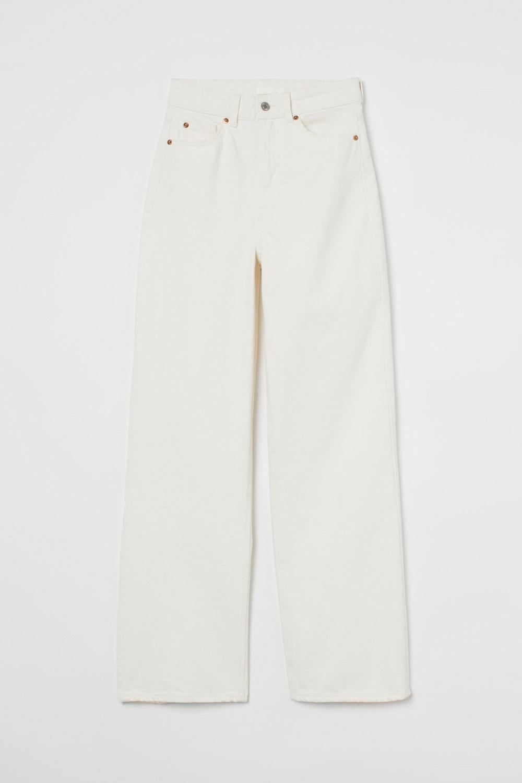 H&M bijele traperice proljeće 2021.