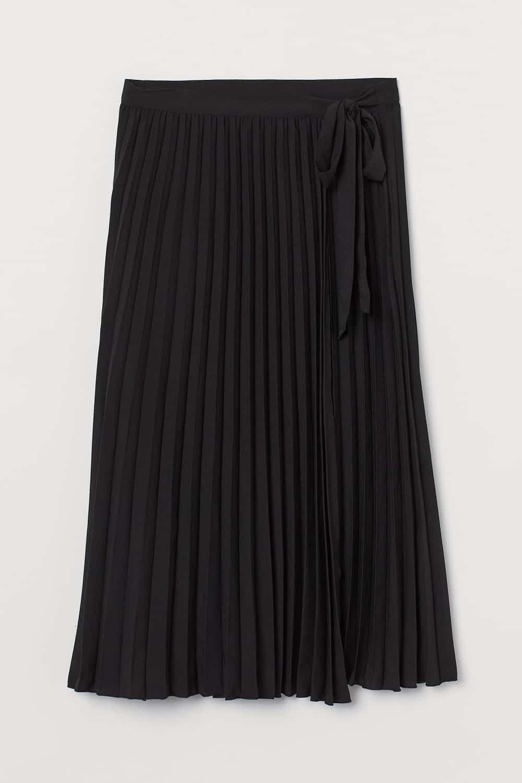 H&M plisirana suknja proljeće 2021.