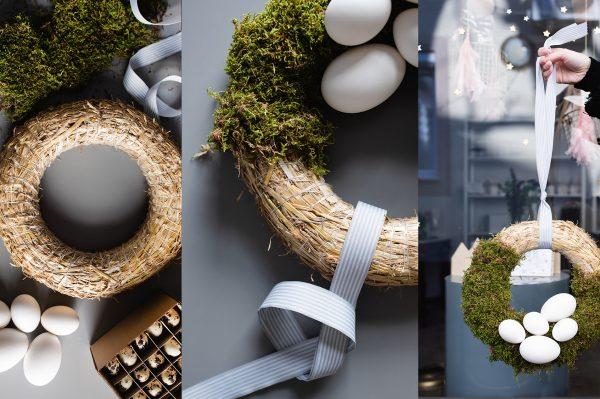 Last minute ideje za uskrsnu dekoraciju – vjenčić na četiri načina