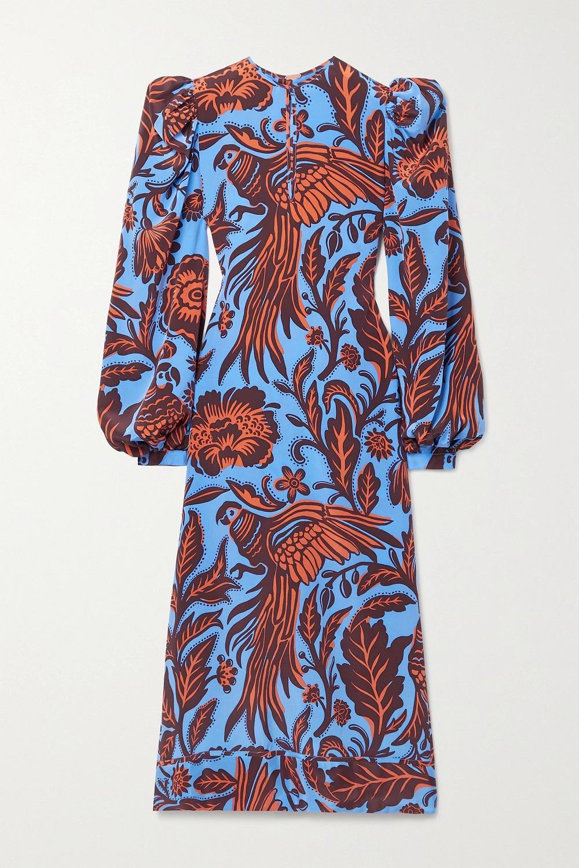 Johanna Ortiz midi haljina proljeće/ljeto 2021.
