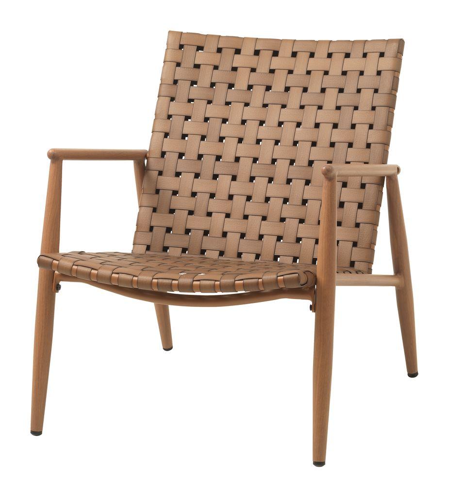 Lounge stolica EDDERUP natur