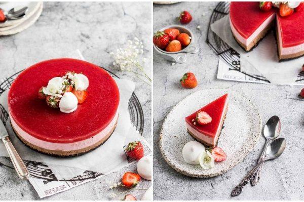 Bite It Quick: Mousse torta od čokolade i jagoda je stvorena za tople dane
