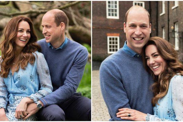 Princ William i Kate slave 10. godišnjicu braka novim romantičnim portretima