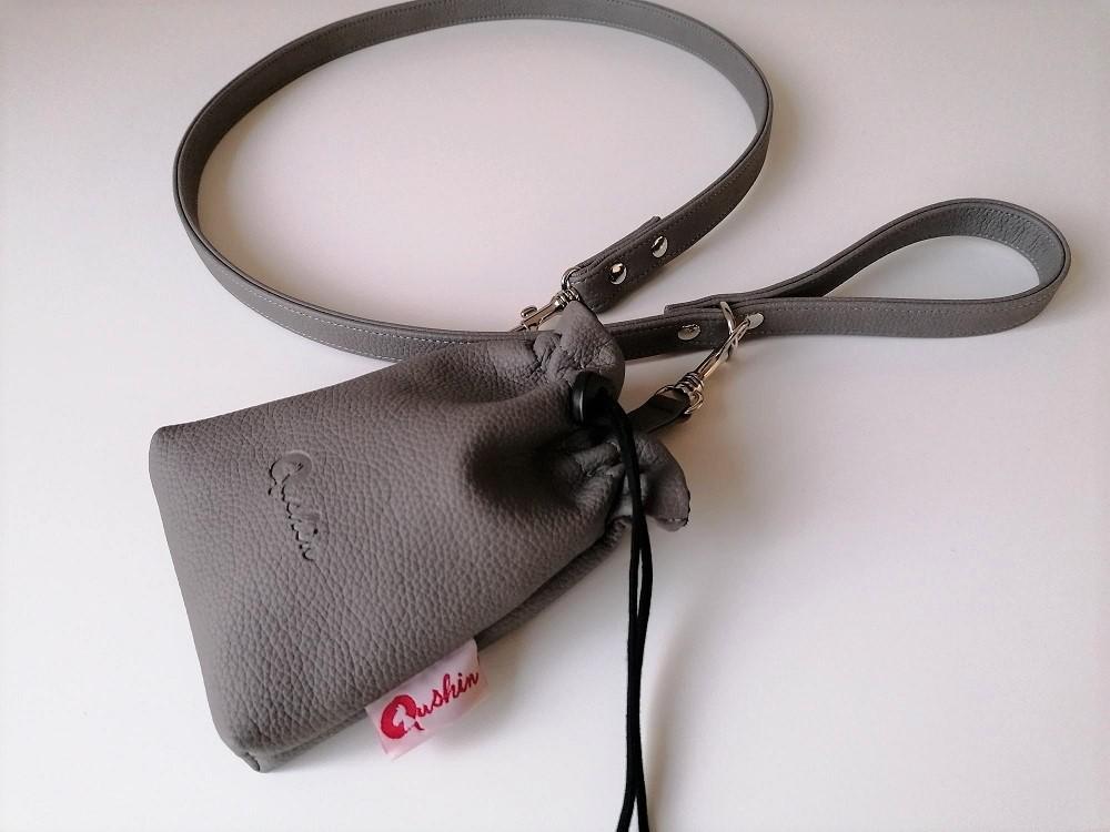 Qushin Alessa povodnik i torbica za šetnju