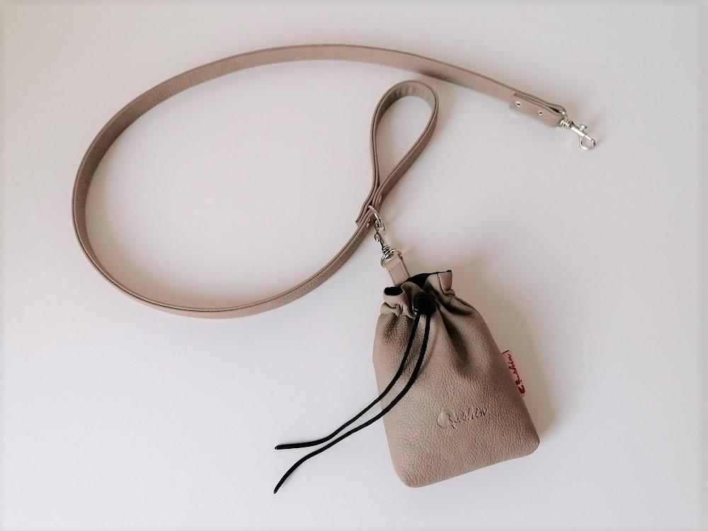 Qushin Noya povodnik i torbica za šetnju