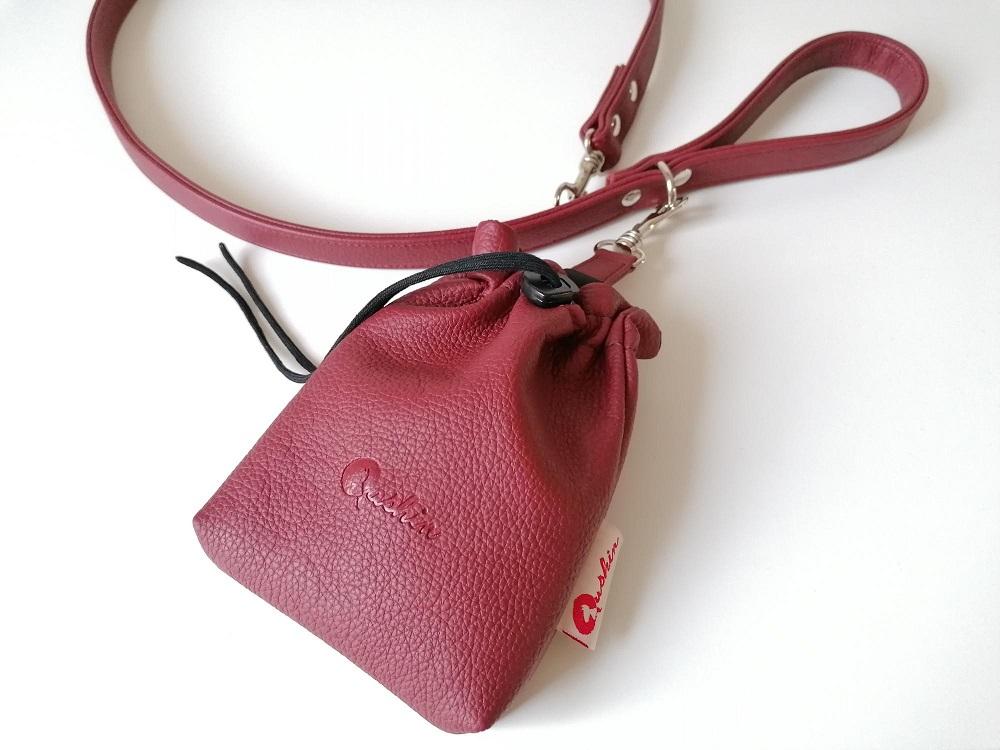 Qushin Sienna povodnik i torbica za šetnju