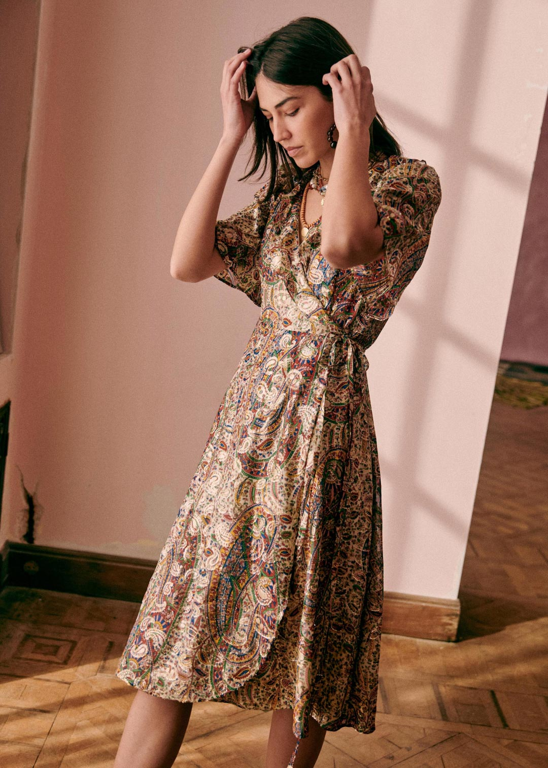 Sezane midi haljina proljeće/ljeto 2021.