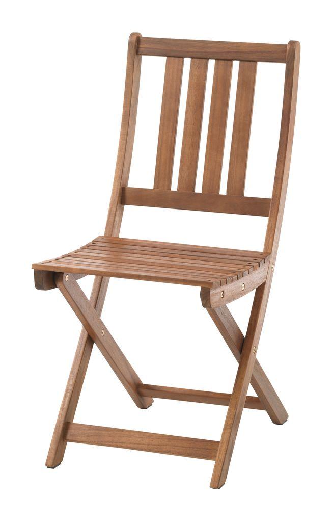 Sklopiva stolica EGELUND tvrdo drvo