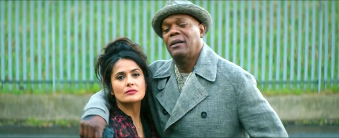 Salma Hayek goes blonde in hilarious action packed first trailer for new movie The Hitman's Wife's Bodyguard