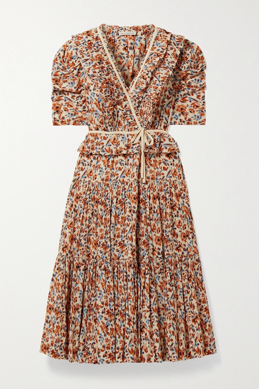 Ulla Johnson midi haljina proljeće/ljeto 2021.
