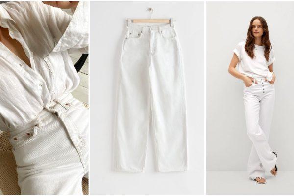 7 savršenih: Bijele traperice koje ćemo nositi ovog proljeća i ljeta