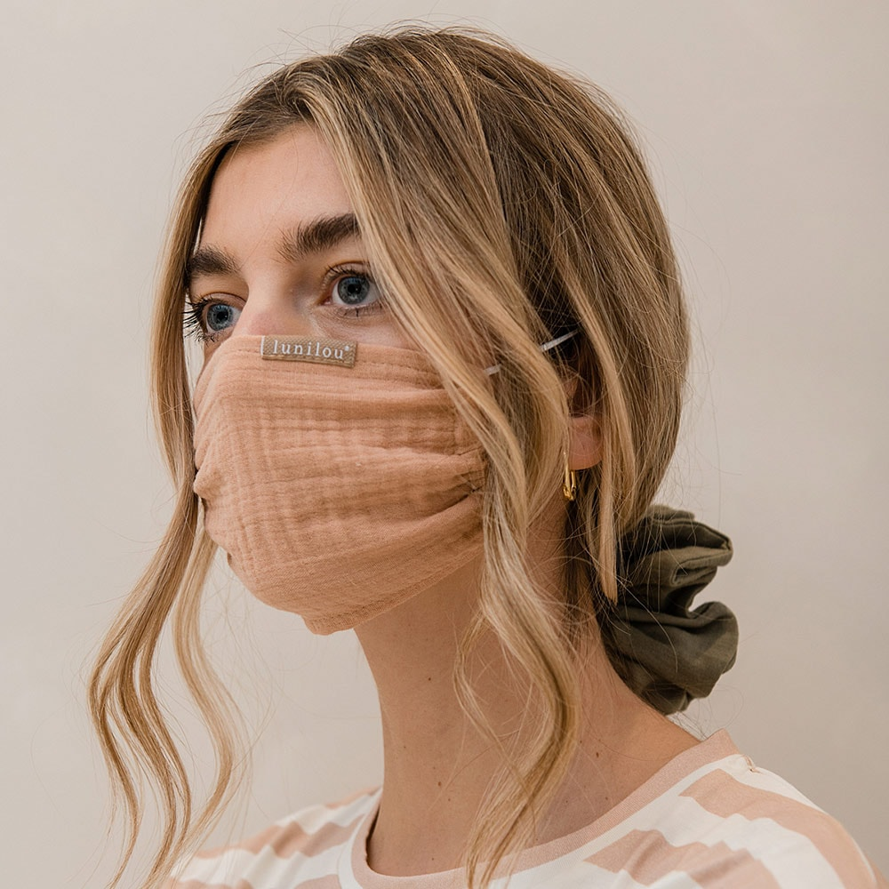 lunilou zaštitne maske od pamuka i lana proljeće ljeto 2021.