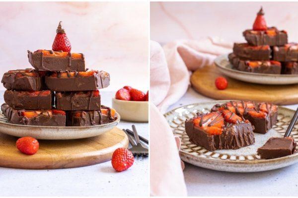 Foodoris: Čokoladni fudge s jagodama – odličan desert od samo nekoliko sastojaka