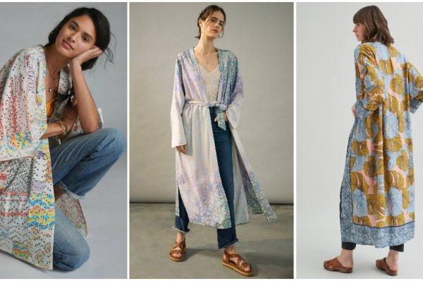 Kimono u 10 trendi modela za proljetne i ljetne dane