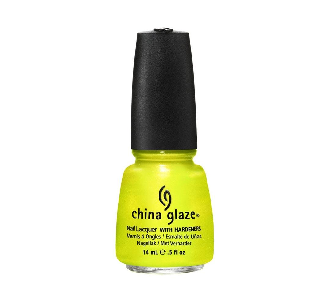 China Glaze pedikure