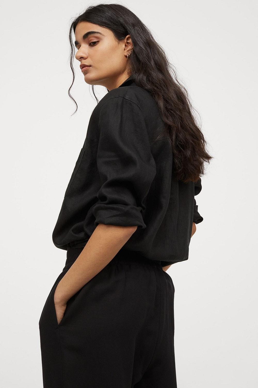 H&M lanena košulja proljeće/ljeto 2021.