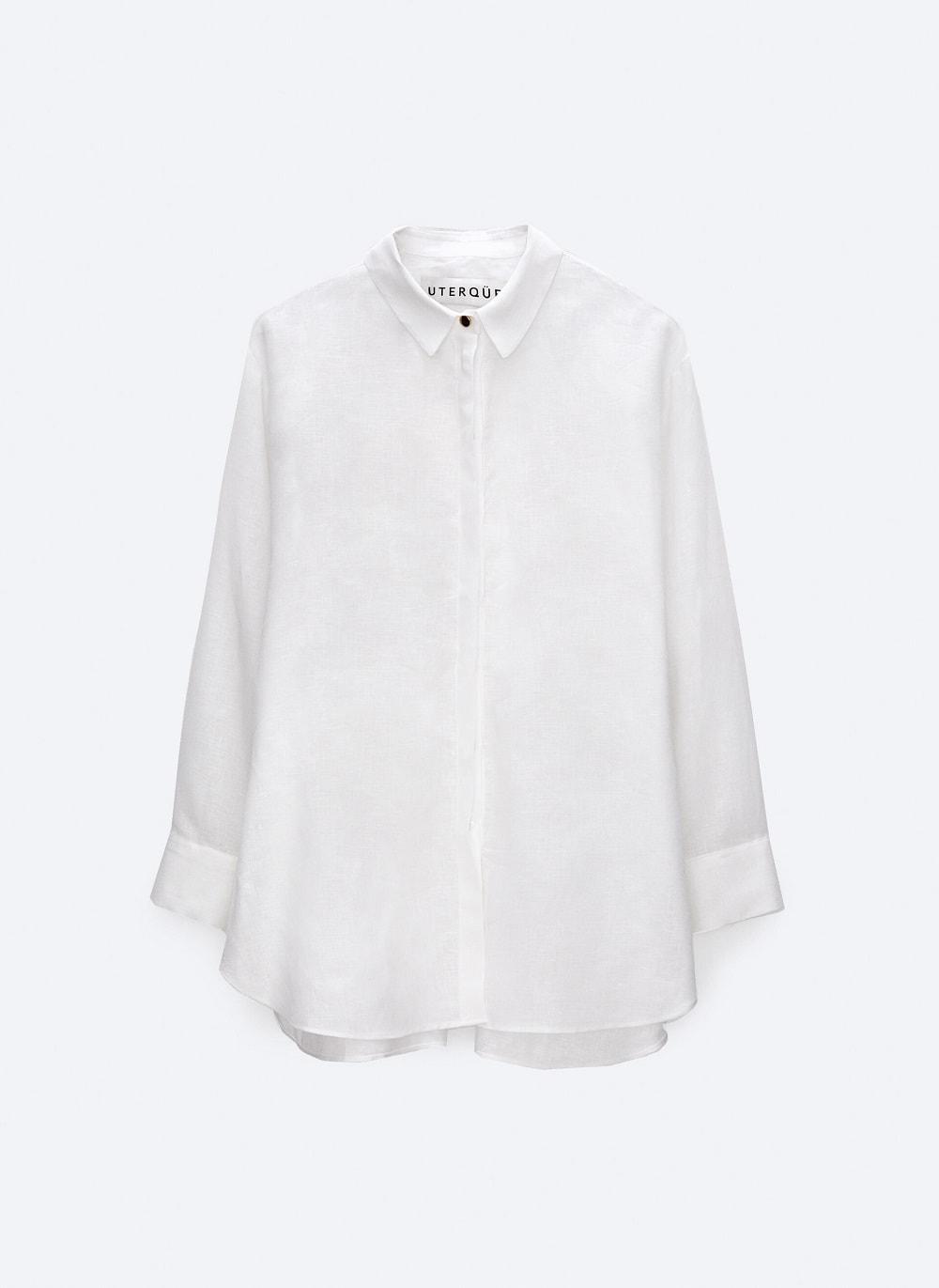 Uterque lanena košulja proljeće ljeto 2021.
