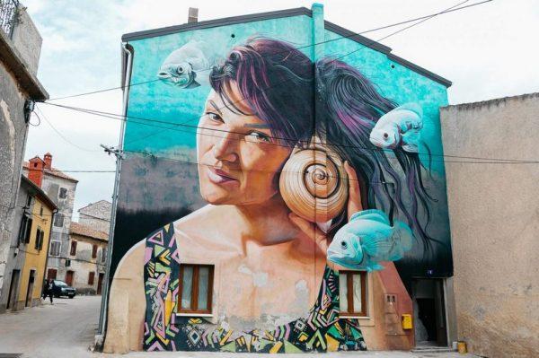 Prošećite s nama Vodnjanom, gradićem čije su ulice predivna street art galerija