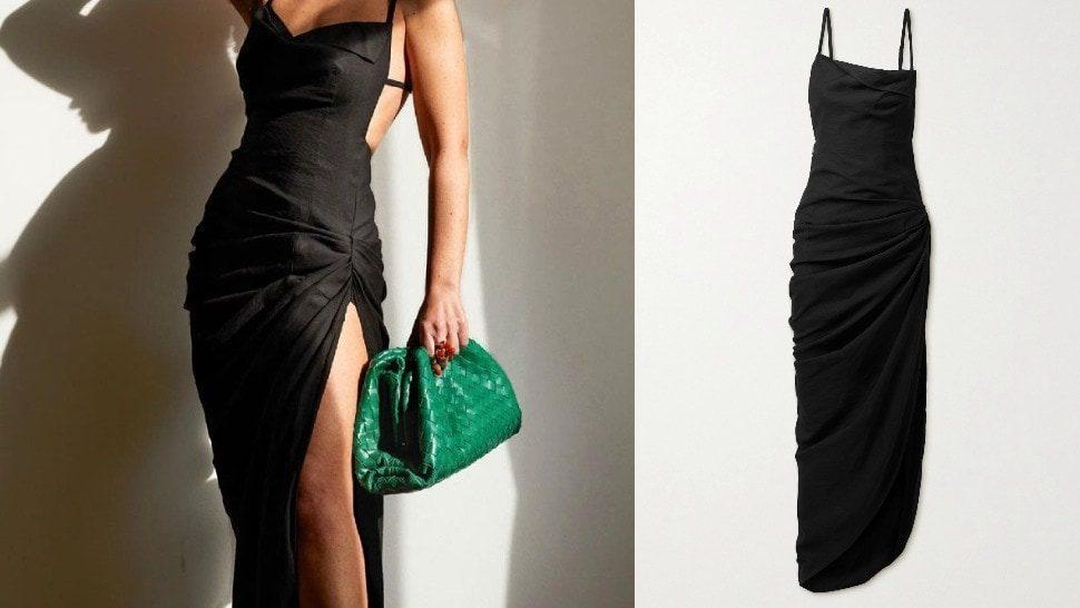High end vs. high street: Mala crna haljina s wow faktorom