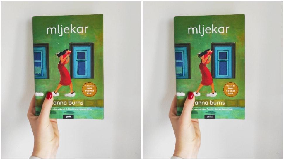 knjiga Mljekar cover