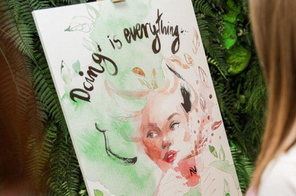 Jeste li već posjetili izložbu radova domaćih ilustratorica u Nespresso boutiqueu u Ilici?