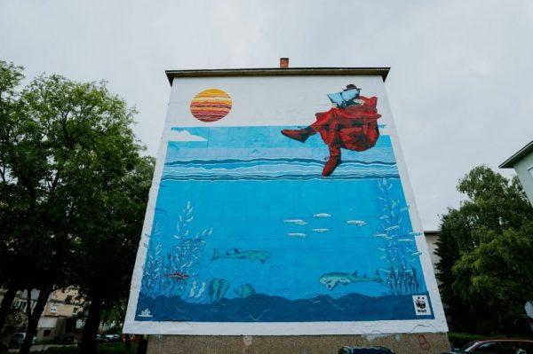 Zagrebačka Sigečica dobila je novi mural kojeg krasi dodatni sloj proširene stvarnosti