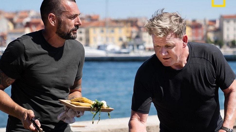Journal Man: Gordon Ramsay i David Skoko zajedno su kuhali u Istri