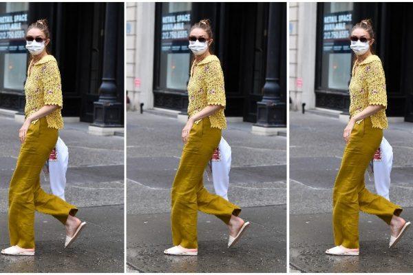 Street style inspiracija: Gigi Hadid odlično nosi hit boju sezone
