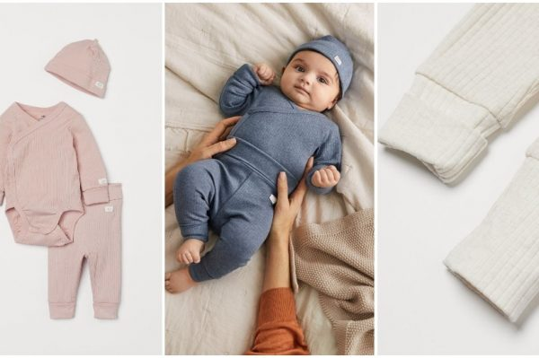 Novi H&M kompleti koji rastu zajedno s bebom
