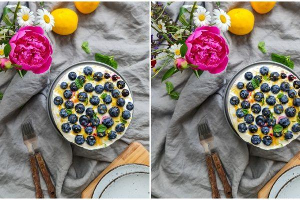 Kate Homecooking: Brza i osvježavajuća torta s borovnicama i sirom