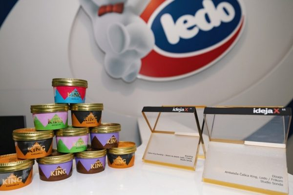 Ledo dobitnik čak dvije prestižne nagrade za dizajn i branding King čašica