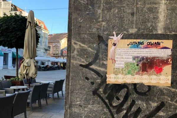 Lutajući oglasi šarmantna su mala umjetnička djela koja uljepšavaju gradske ulice