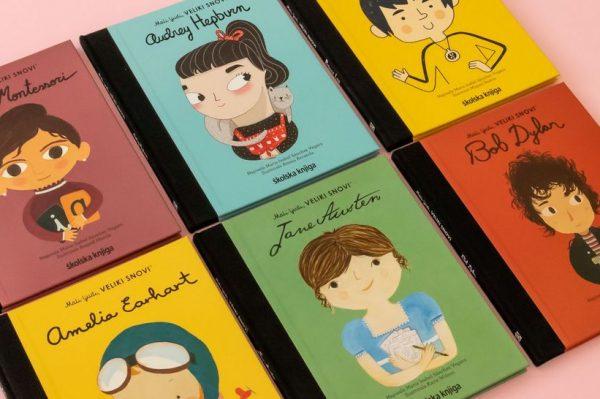 Izlazi nova serija najljepših dječjih slikovnica 'Mali ljudi, veliki snovi'