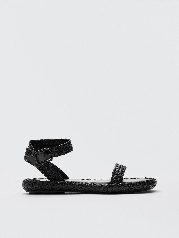 Massimo Dutti sandale rafija ljeto 2021.