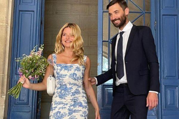 Chic građansko vjenčanje poznate Parižanke