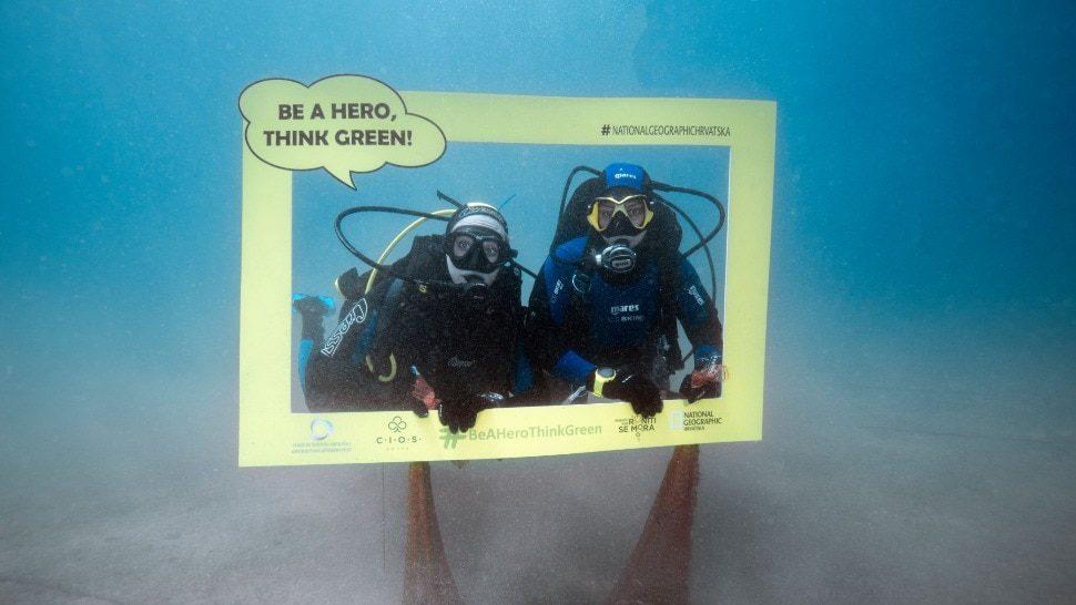 U akciji Think green ronioci očistili podmorje oko otoka Visa