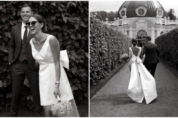 Mala bijela haljina kao savršena vjenčanica za vruće dane